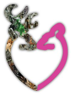 Browning Heart Camo and Pink vinyl sticker decal by stickerscrate, $3.00