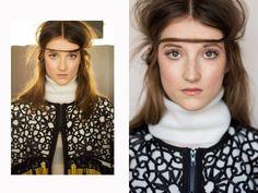 Fatma Aslan #Fahmoda #couture #trellis #tracery by pierre heinemann   Hair, Photography, Music