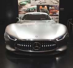 What are you looking at? Discover the Mercedes-Benz AMG Vision Gran Tourismo live at this year's IAA in Frankfurt Germany. Photo via @srcreativity #MercedesAMG #AMG #MBcars #GranTourismo #MBIAA15 by mercedesamg