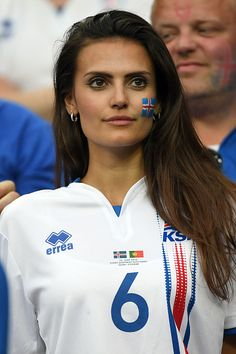 #EURO2016 An Iceland fan during the UEFA EURO 2016 quarter final match between France and Iceland at Stade de France on July 3 2016 in Paris France