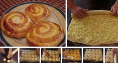 Šneci z kynutého těsta | NejRecept.cz Czech Recipes, Ethnic Recipes, Cake Recipes, Dessert Recipes, German Cake, Pudding Desserts, Food Cakes, Food And Drink, Sweets