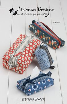 Stowaways sewing pattern – Bloomerie Fabrics