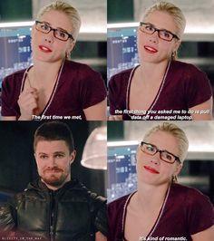 Arrow - Oliver & Felicity #4.14 #Olicity <3
