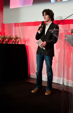 Olivier Duval Best Actor in the Short Film Section for his rôle in L'Amour Bègue by Jan Czarlewski