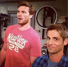 "The pretty boys from ""Baby Daddy"": Derek Theler & Jean-Luc Bilodeau."
