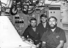 Missile Control Center (MCC) USS George Washington SSBN 598 1975