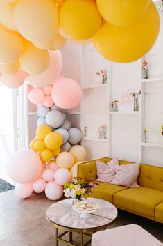 pastel party balloon