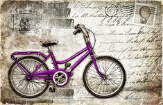 JF_0093_GR1 Cuadro Bici lIlA en postal plateada