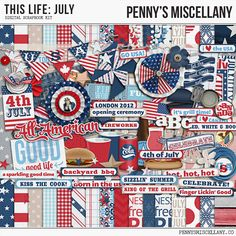 Thursday's Guest Freebies ~ Penny's Miscellany  ✿ Follow the Free Digital Scrapbook board for daily freebies: https://www.pinterest.com/sherylcsjohnson/free-digital-scrapbook/ ✿ Visit GrannyEnchanted.Com for thousands of digital scrapbook freebies. ✿