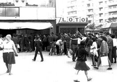 queue for bread, Romania, before 1998 Communism, Bucharest, Nostalgia, Street View, Memories, History, Photography, Bread, Times