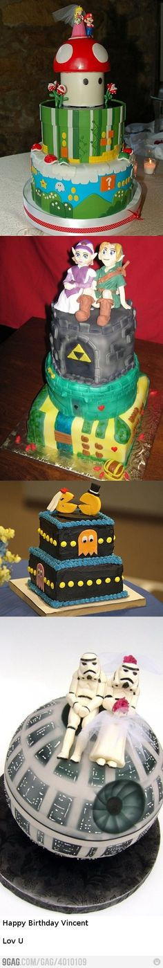 Some awesome wedding cakes