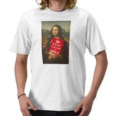 Keep Calm And Smile #funny #tshirt