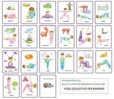 Can yoga really help you lose weight? Easy and effective yoga poses for weight loss will tone your arms, flatten your belly, and slim down your legs. Kids Yoga Poses, Yoga For Kids, Exercise For Kids, Toddler Yoga, Baby Yoga, Gross Motor Activities, Activities For Kids, Yoga Bebe, Preschool Yoga