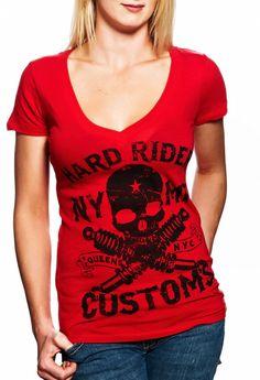 Hardrider motorcycle clothing Harley Davidson biker chick women's clothing choppers made in the USA hardridernyc
