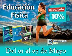 Desde el 01 al 07 de Mayo #Descuento en Libros de #EducaciónFísica #Deporte #Fitness #Lima #SanCristobalLibros Contactos: 975 510 800  http://ift.tt/2pwQZT7