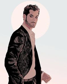 """11k Likes, 34 Comments - Lucifer (@luciferonfox) on Instagram: """"Quite the handsome illustration of Mr. Morningstar.  Click the link in our bio to submit your…"""""""