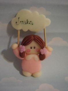 souvenirs iman, nacimiento, bautismo,comunion.porcelana fria by Maria Elena Lopez