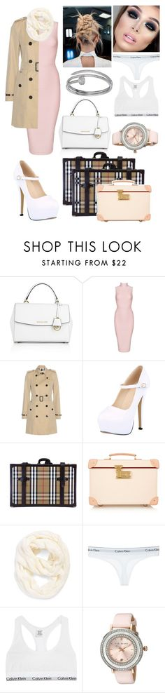 """""""Working with Dan Howell"""" by the-wanted-potato ❤ liked on Polyvore featuring Michael Kors, Posh Girl, Burberry, Globe-Trotter, Echo, Beauty Secrets, Calvin Klein Underwear, Ted Baker and Cartier"""
