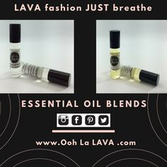 Our Essential oil blends the headache and happy blends. @oohlalava The Headache Blend, made to ease away your pain. We use a roller bottle for simple use, just roll on both sides of your temple and front forehead, and just breathe. Enjoy the beautiful aromas of Lavender, Frankincense and Peppermint. For more natural healing remedies stay tuned :)