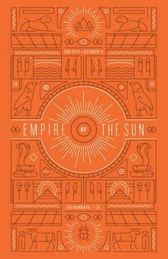 Empire of the Sun poster by Kyle Marks