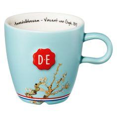 "Douwe Egberts Zegel mok ""Amandelbloesem""   Blokker"