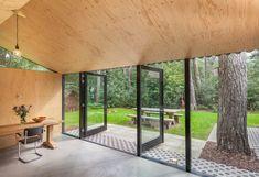Design boshuisje in Friesland - Tiny houses te Huur in Oudemirdum, Friesland, Nederland