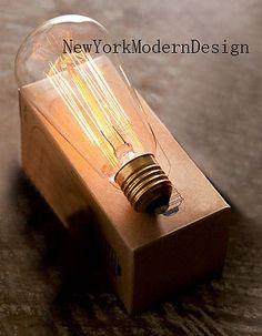 2 HG  Vintage T64 style 40W Nostalgic Edison Squirrel Cage Filament Light bulb