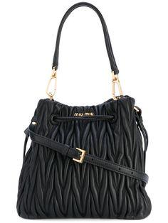 fdd873b5d6a9 MIU MIU quilted drawstring tote.  miumiu  bags  shoulder bags  hand bags   leather  tote