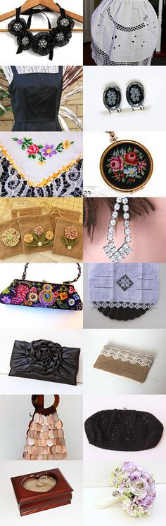 Beautiful Vintage gifts. by Eva M Hermida on Etsy--Pinned with TreasuryPin.com