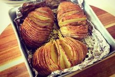 Hasselback Potatoes, Appetisers, No Cook Meals, Deli, Baked Potato, Pork, Vegetables, Breakfast, Ethnic Recipes