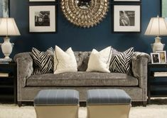 love the color scheme!! go great with my charcoal chevron rug and already blue walls!!