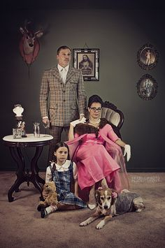 Artistic and dramatic family photo session -Kerri Percy Photography