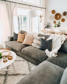Cozy Cosy Living Room Lounge Room Sofa And Couch Inspo Neutral Home Style Inspir. - Cozy Cosy Living Room Lounge Room Sofa And Couch Inspo Neutral Home Style Inspiration Home Interior - Living Room Lounge, Boho Living Room, Cozy Living Rooms, Apartment Living, Home And Living, Living Room Decor, Modern Living, Small Living, Decor Room