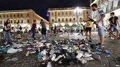 Turin stampede: '1500 injured' at Juventus screening