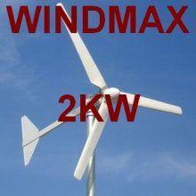 Windmax Home Wind Turbine 2kw/48v - Wind Generator for Home Use