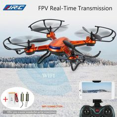 Jjrc H12w Fpv Drones With Camera Wifi Quadcopters Flying Camera Dron Rc Helicopter Remote Control Toys For Kids Copters  #Affiliate