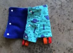 READY TO SHIP Tula teething pads drool pads suck by LollyBirds