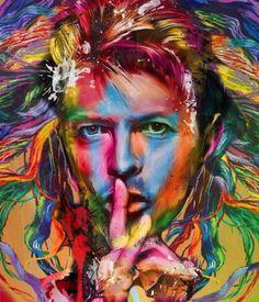 David Bowie... @Bazaart