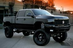 Riding in Chevy's only. All black everything.