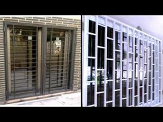 Window designs|Grill design photo|Window grill designs|Modern grill design - YouTube Window Grill Design Modern, Window Design, Modern Design, Photo Window, Phone Shop, Modern Windows, Living Styles, Home And Living, Grilling
