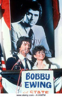 Dallas Year 1978 1991 Patrick Duffy Victoria Principal - Stock Image
