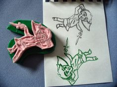 How to Carve Rubber Stamps