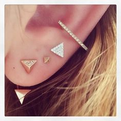 These are so cute. I want them all with a daith and a forward helix