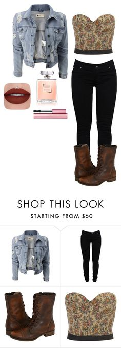 """""""casual"""" by ariel-1017 on Polyvore featuring Dollydagger, Steve Madden and Too Faced Cosmetics"""