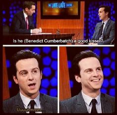 """Me-""""I KNEW HE ENJOYED IT. And Ben forgot it was supposed to be an ALMOST kiss and Andrew didn't try to stop him."""" --- best. Thing. Ever. Why aren't we getting to see this? It would be hilarious and adorable. :3"""