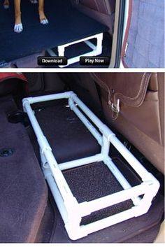 Rear Seat Folding Dog Platform Dodge Ram Forum Dodge Truck Forums Good Stuff Truck
