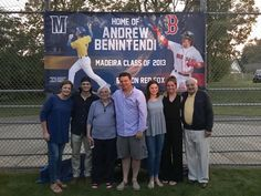 Benny with family back in Cincinnati Boston Sports, Boston Red Sox, Andrew Benintendi, Win My Heart, The Outfield, Man Crush, Biceps, Cincinnati, England