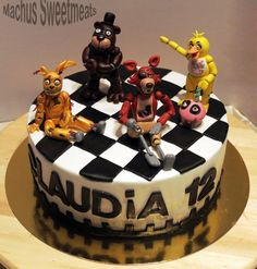 Cakes on Pinterest | Five Nights At Freddy's, Fondant and Fnaf