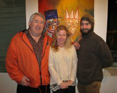 Artists exhibiting in the show, but not pictured below, include Karl Mullen, Jeanet Ingalls and Laurie McLeod. Sponsors of the show, Mission Bar + Tapas, used the occasion to debut their new spring menu, to the delight of guests. The exhibition will be on view through February 28 and the Festival continues through February 23, with plays at the Barrington Stage Company running through March 2.