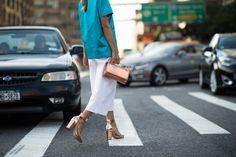 New York Fashion Week Spring 2015 Day 4 - New York Fashion Week Spring 2015 Street Style   W Magazine
